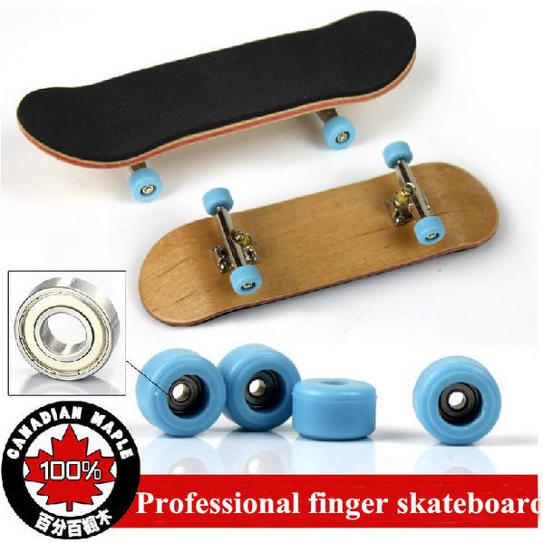 2015 Professional Alloy Trucks Bearing Wheels Maple Wooden Finger Board Skateboard Adults Fingerboard Children Toys(China (Mainland))