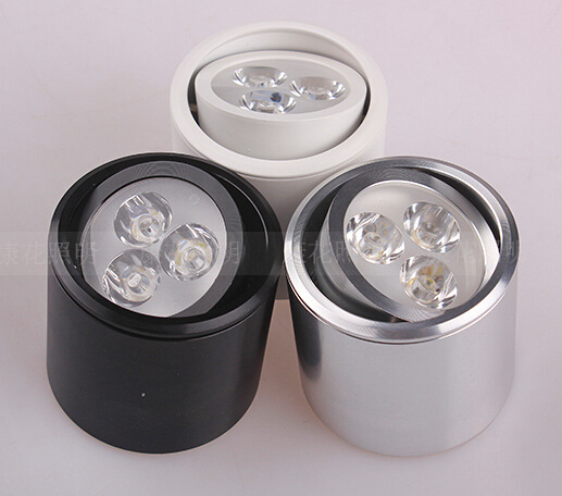 Free shipping 6W Super Bright Surface Mounted led down ...