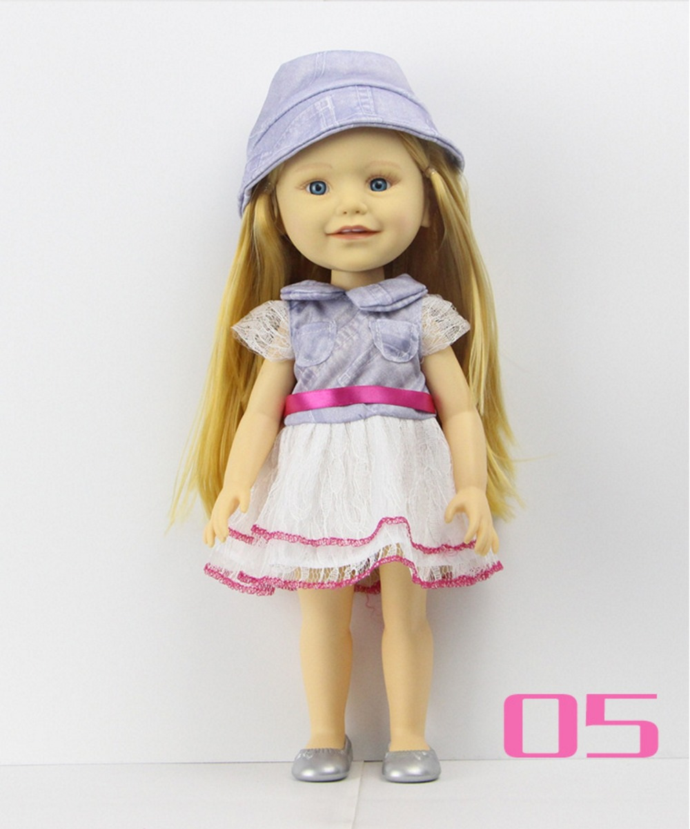 New Arrival 40cm American Girl Baby Doll 16 inch Full Body VINYL Girl Doll Baby Holiday Gifts(China (Mainland))