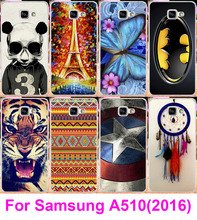 Soft TPU & Hard Plastic Mobile Phone Case For Samsung Galaxy A5 Cases Covers 2016 A510 Bags Housings A510 A5100 Skin Shell Hoods