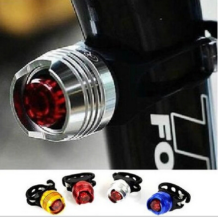 LED Waterproof Bike Bicycle Cycling Front Rear Tail Helmet Red Flash Lights Safety Warning Lamp Cycling Safety Caution Light T43(China (Mainland))