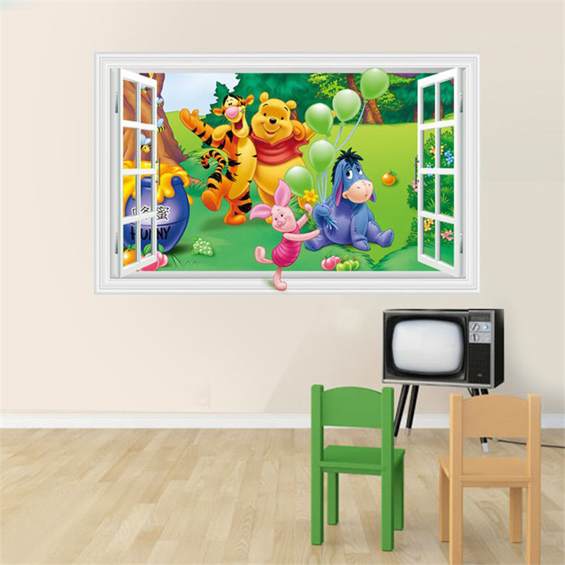 Art window promotion shop for promotional art window on for 3d baby room design
