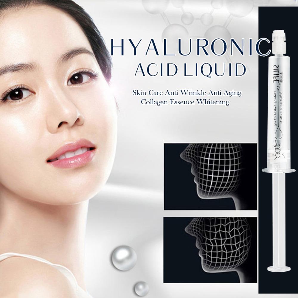 Y&S Whitening Skin Care Hyaluronic Acid Liquid Needle Cylinder Human Design Anti Wrinkle Anti Aging Collagen Essence(China (Mainland))