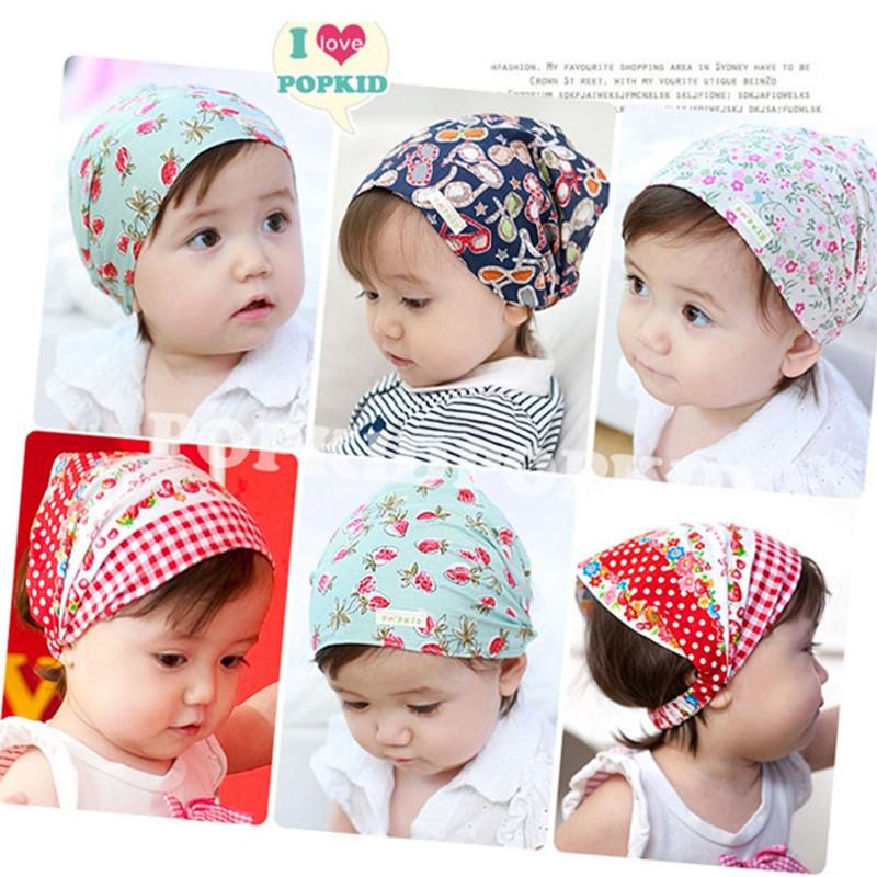 infant hairband cotton baby headband Cotton bandana baby headkerchief girls headpiece(China (Mainland))