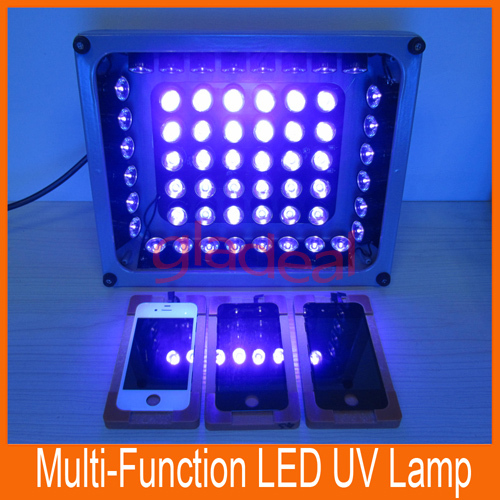 LED Ultraviolet Professional Lighting/ UV Gel Curing Lights/Lamp to Dry UV LOCA Glue of LCD Display Screen for Repairing iPhone(China (Mainland))