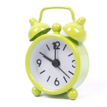 Lovely Mini Cartoon Dial Number Round Desktop Alarm Clock Clocks reloj despertador#61193(China (Mainland))