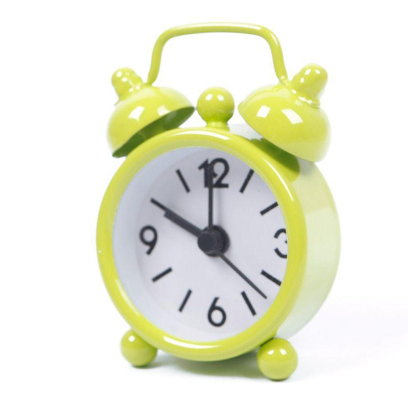 Lovely Mini Cartoon Dial Number Round Desktop Alarm Clock Clocks reloj despertador#61193(China (Mainland))