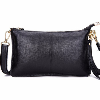 2015 top quality 100% genuine leather cowhide envelope women clutch bag evening bags party handbags cross body shoulder small