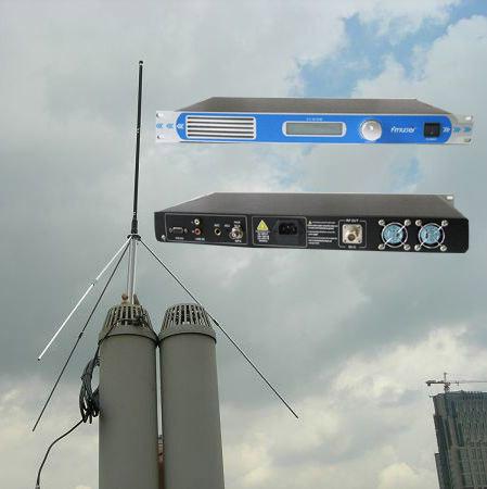 FSN-301 FU-30C 30W PLL Professional FM transmitter exciter 1U 87-108Mhz GP100 1/4 wave Professional GP Antenna 26ft. cable KIT(China (Mainland))