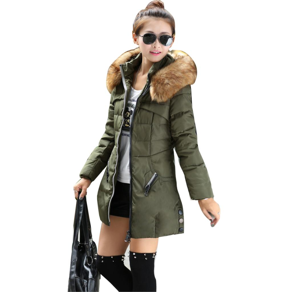 2015 winter women parka outerwear zipper duck down jacket. Black Bedroom Furniture Sets. Home Design Ideas