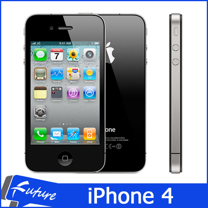 "Original Apple iPhone 4 8GB/16GB/32GB IOS7 3.5"" IPS 960*640 3G 5MP GPS WIFI Dual Camera Mobile Phone Factory Unlocked(China (Mainland))"