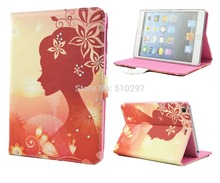 Fashion New arrival Fashion Flip PU Leather Case For Apple iPad Mini 1 2 3 Smart Cover With Stand Funciton(China (Mainland))