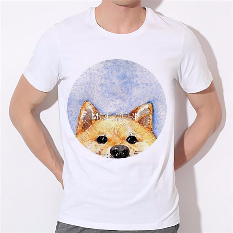 Moe Cerf Dogs Pug Tops Tees Shirt Hot Sale T Shirts Men Game Of Thrones 3D Man T-shirt Star Wars O Neck Mens t shirt B-137#  HTB1pw1rKVXXXXbvXpXXq6xXFXXXZ
