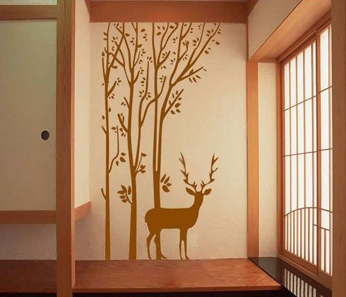 Wall paper decorations for living room : Hot selling kids wall sticker the paper child