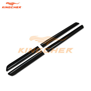 rubber door side sill trim Nerf bar protection Styling Mouldings Suitable For Land Rover Discovery 4 LR4 2010-2015