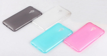 Soft Silicone Clear Gel Pudding Frosted Back Cover Case For Meizu M2 Mini Case Protective Shell For MEIZU M2 MINI Cover Fundas