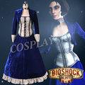 Girls Dresses Bioshock Infinite Elizabeth Cosplay Costumes Halloween Uniforms for Women