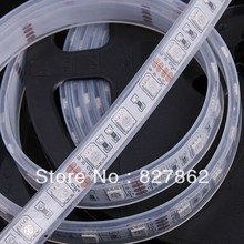 EL Products DC12V IP68 Waterproof Flexible Light LED EL Products Strip 5050, /Warm White/Blue/G/Red/Yellow/RGB 60LEDs/m 5m/lot(China (Mainland))