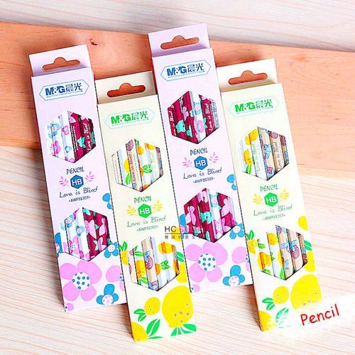 Aoopen stationery supplies Korea advanced wooden pencil for school kids students prize writing doodle12pcs/set Oulm wholesale(China (Mainland))