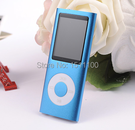 BEST QUALITY 4G MP3 player recording FM radio color TFT display language learning Portable Audio walkman MP3 players(China (Mainland))
