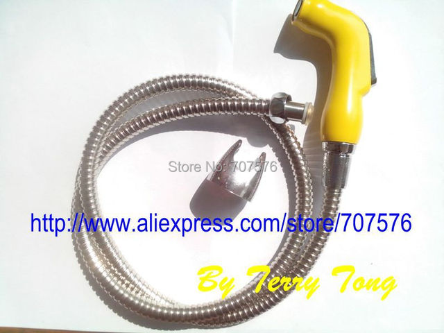 7sets/lot +Free Shipping  Handheld / Portable bidet  Diaper Sprayer Shattaf TS078B-SET  Shattaf head+hose+bracket+fitting parts