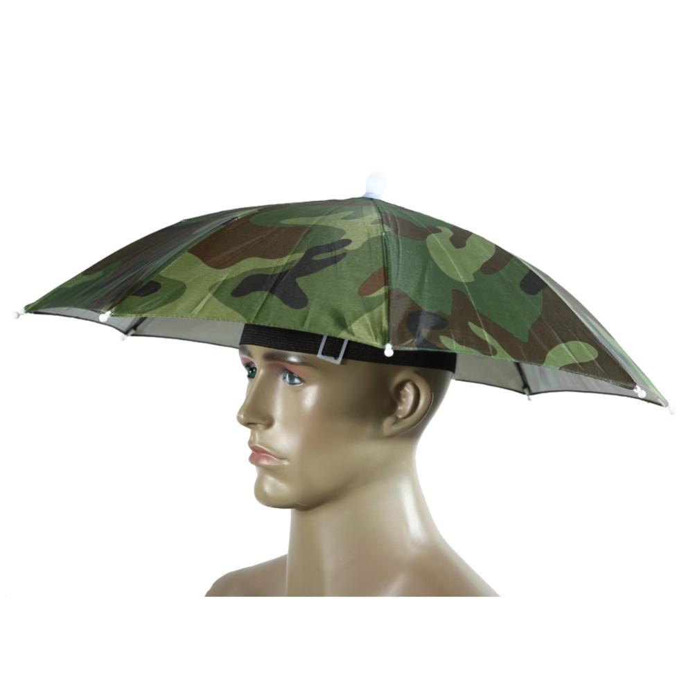 Зонт-шляпа для рыбака