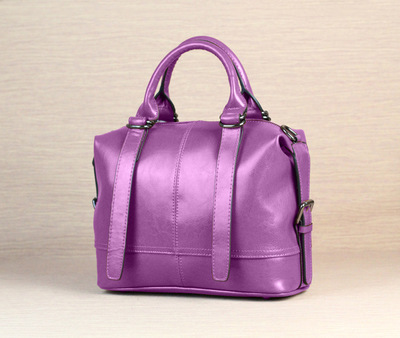 Freeshipping big bags 2015 new brand bag fashion all-match shoulder bag genuine leather women's handbag motorcycle bag V016(China (Mainland))