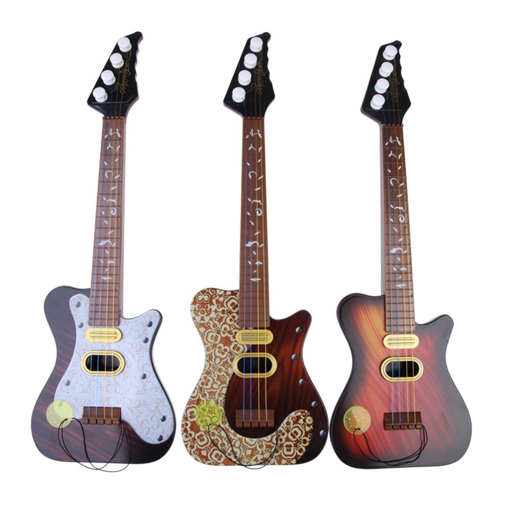 EA14 Children 4 String Guitar Simulation Early Childhood Educational Toys Series(China (Mainland))