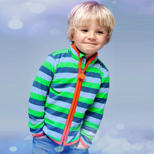 New 2015 Spring&Autumn Children Kids Boy girl hoodies Baby Boys girls stripe fleece jackets and coats kids boys sweatshirt TN033(China (Mainland))