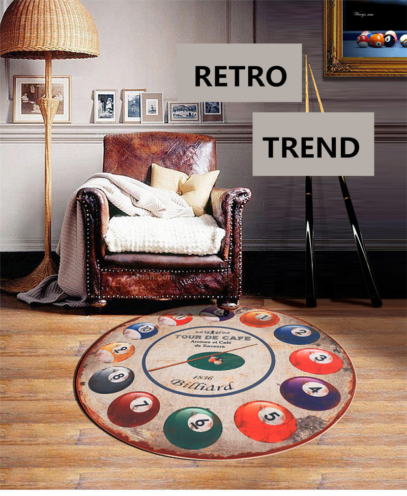 160cm diameter round billiards doormat rugs and carpets for living 160cm diameter round billiards doormat rugs and carpets for living room and bedroom hallway area rug computer chair floor mat us854 fandeluxe Image collections