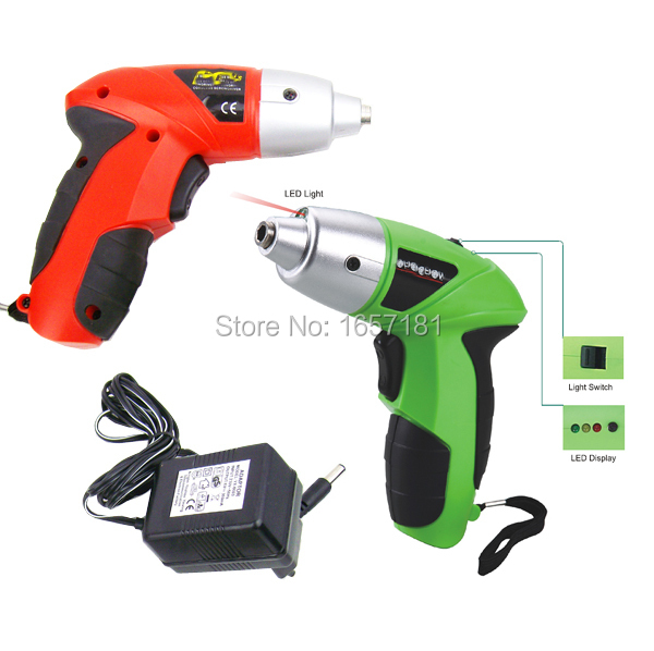 4.8V rechargeable/electric screwdriver /small Drill/Driver Cordless sleeve Power Tools cordless drill electric drill(China (Mainland))