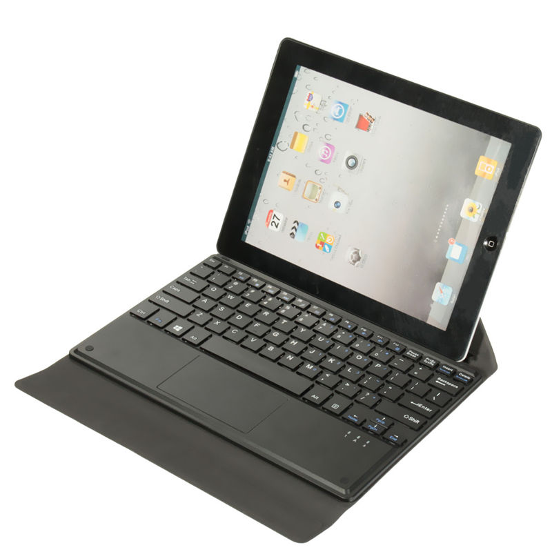 2016 High Quality Magnetic To Stick Tablet PC Folding Holder Leather Keyboards Case Cover With Touch Pad Keyboard For Linx 10''(China (Mainland))