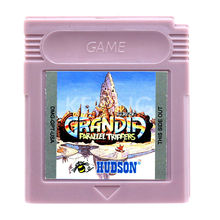 Grandia Parallel Trippers Game Cartridge Console Card English Language Version for GB Color Handheld Game Player