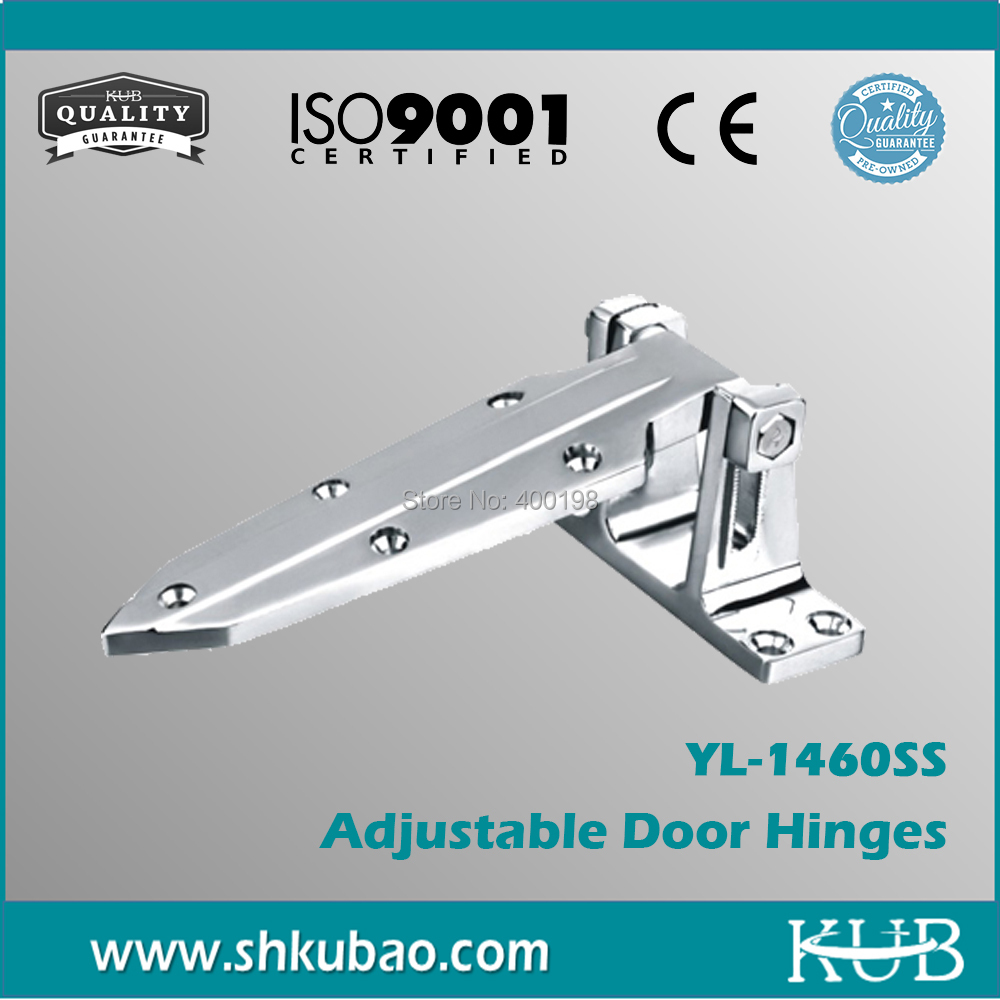 Free Shipping different types of universal hinges adjustable door hinges YL-1460SS cold room universal hinges(China (Mainland))