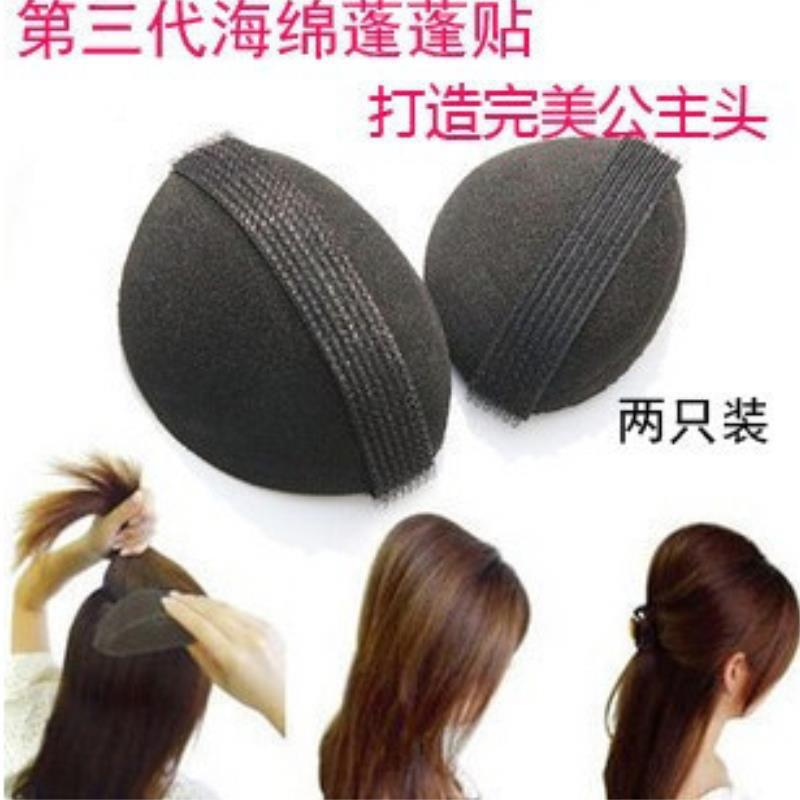 hair braiding machine tools 2pcs princess bun increased sponge hair braider hair tools summer style coiffure(China (Mainland))