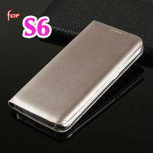 Buy Slim Shell Wallet Holster Original Leather Case Flip Cover Card Holder Phone Bag Samsung Galaxy S6 G920 G920F G920i G920H for $2.58 in AliExpress store