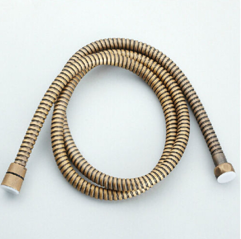 Free Shipping Wholesale and Retail bronze-plate Stainless steel 59-inch Shower Hose 150cm<br><br>Aliexpress
