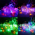 50pcs/lot Wholesale Price New Year Holiday Christmas Decoration Led 110v / 220v 10m 100 leds String Lights With 8 Display Modes.