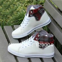 2013 Fashion Men's Winter Boots Clearance The Trend Of Casual Male High-top Shoes Free Shipping(China (Mainland))