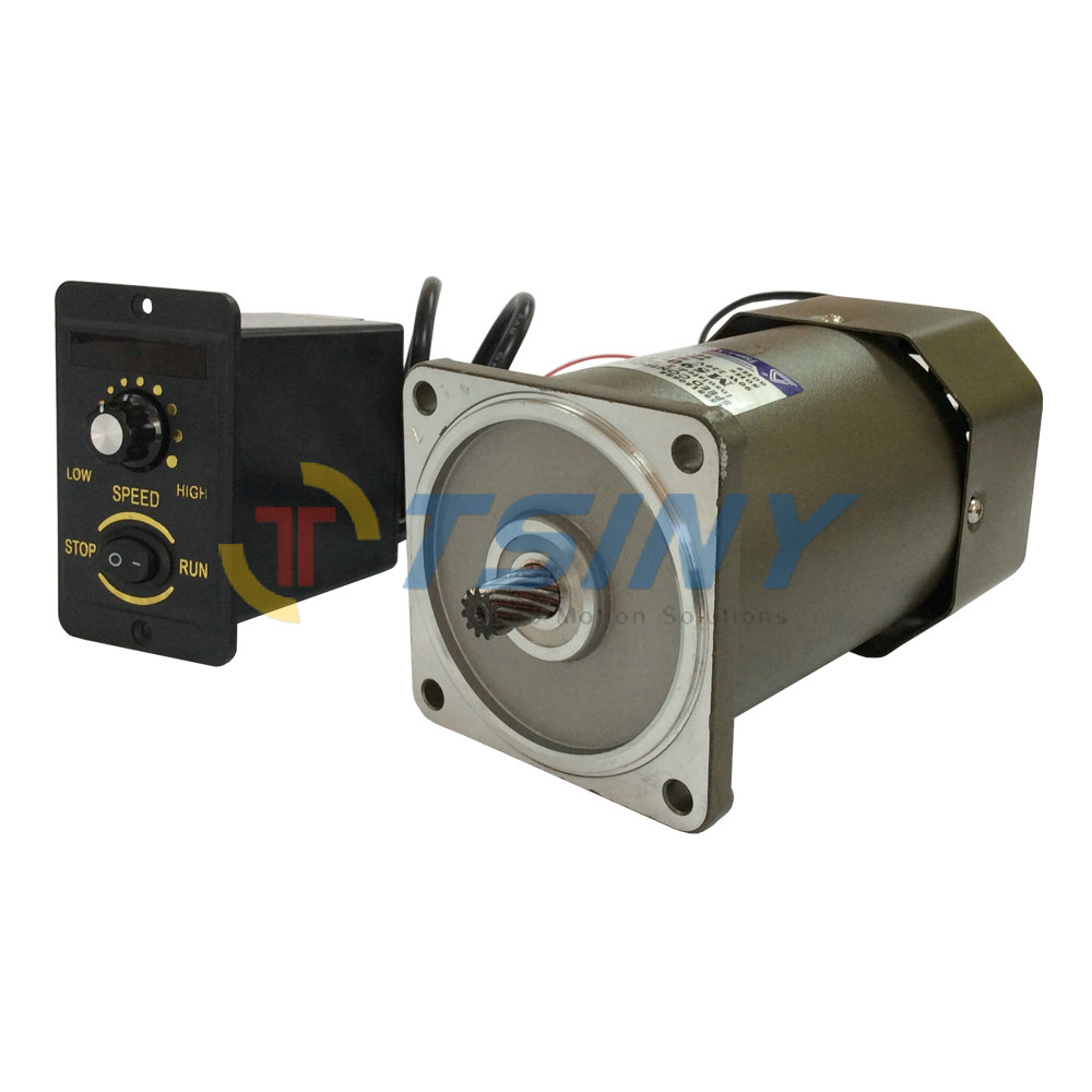 AC Motor 90W 220V High Speed High Torque Electric Motor with Speed Controller CW CCW Industrial Variable 50-60HZ(China (Mainland))