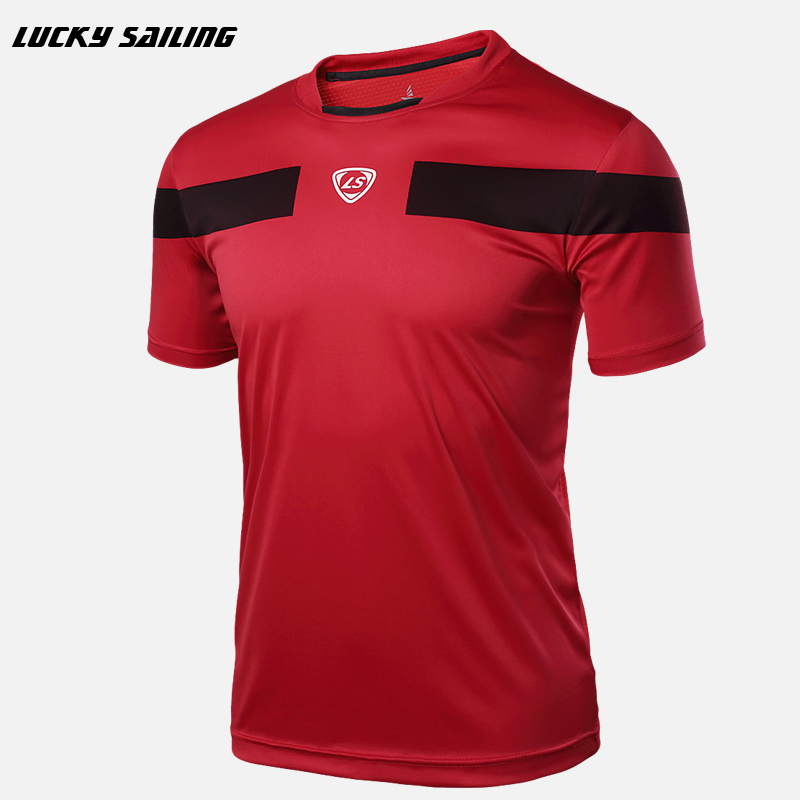 2017 Quick Dry Slim Fit Tees MenT-Shirts Compression soccer jerseys Tops Bodybuilding Fitness O-Neck Short Sleeve T Shirt(China (Mainland))