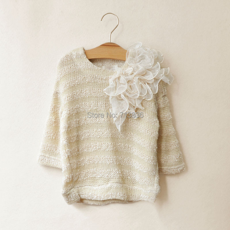 [Eleven Story] Girls new spring / fall sweater baby children princess wear ES12CT-94PO(China (Mainland))