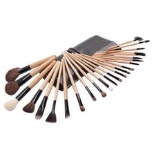 Xaestival Professional 24 Pieces Makeup Brushes Set Cosmetic Kit with Red Folder Case