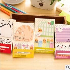Гаджет  Creative Bird Pand Cat etc. Animal Motif Mini Memo Notepad,note Book&memo Pad,sticky Notes Book Mark None Офисные и Школьные принадлежности