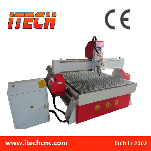 2013 High-end and Efficient wood cnc engraving router machine ITM1325