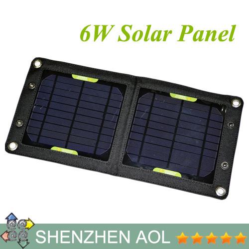 Панель солнечных батарей Aol 6W 5.5V iphone Samsung MP3/4 PSP SP12 панель солнечных батарей jk 6 3 5w usb aba47