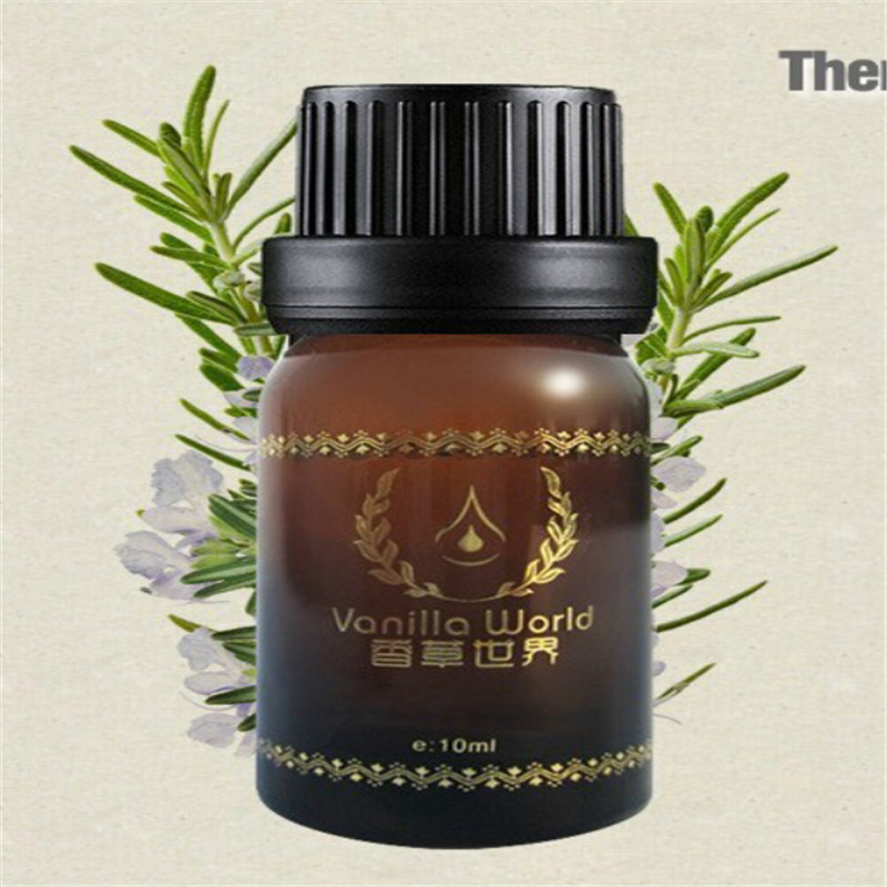 rosemary 100% pure essential oil for anti aging anti wrinkles oil for hair massage oil essential oils for aromatherapy lcp415(China (Mainland))