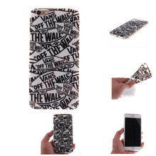 Vans off the wall for iphone 4 4s 5 5s 5c 6 6s 6plus Case Art Print Soft Silicon TPU Back Cover Phone Carcasas Fundas Caso Coque