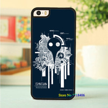 evangelion phone cell case cover for iphone 4 4s 5 5s 5c SE 6 6s & 6 plus 6s plus #4673an