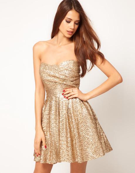 Gold Sequin Bridesmaids Dresses Gold Sequin Bridesmaid